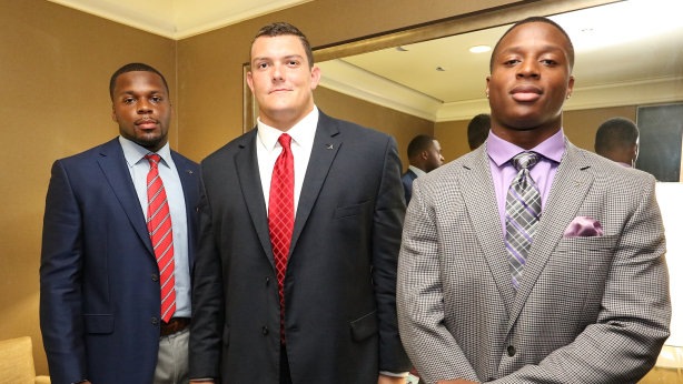 Lakota West Football Alum: Ryan Kelly at SEC Media Day!