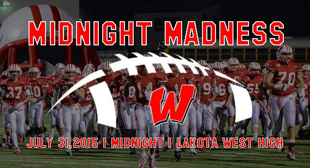 Lakota West Football Starting the Season at Midnight on Friday