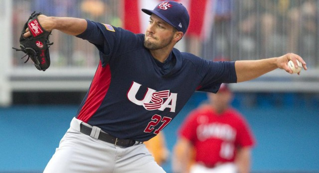 Lakota West Baseball Alum: Pan-Am Games were 'experience of a lifetime' for Travelers pitcher Nate Smith