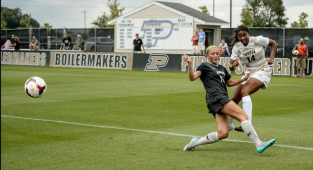 Lakota West Alumni: Kim Love Assists Purdue in 4-3 Comeback Victory Over Xavier