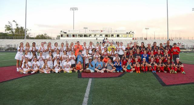 Lakota West Girls Soccer Raises $1800 for Special Olympics with Alumni Game