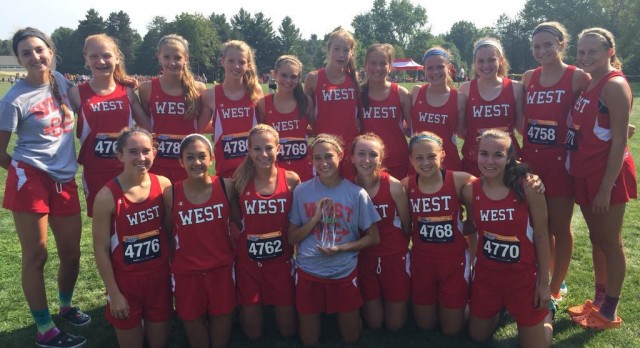 Lakota West Girls XC Team Wins FinishTiming XC Classic at Wilmington; Boys Finish 7th