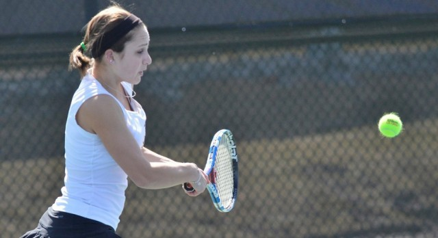 Lakota West Tennis Alum: Nicole Soutar Cruises to 6-0 Victory as NKU Sweeps Thomas More!