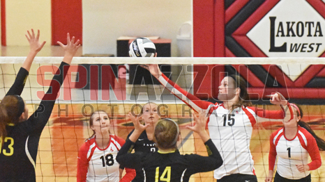 Lakota West Volleyball vs. McAuley Pics By Lou Spinazzola!