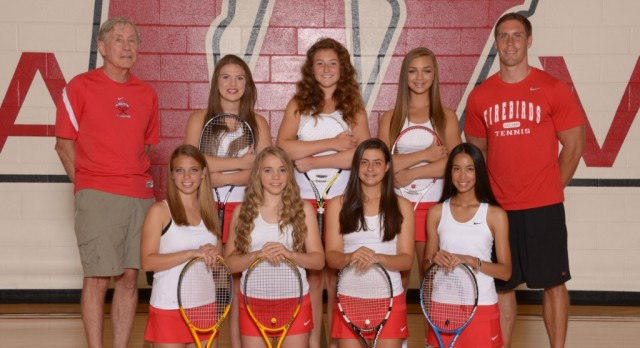 Lakota West Girls Tennis Finishes 4th at GMC Tournament