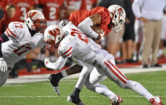 Lakota West Football: Firebirds Fail to Stop Colerain Cardinals in 48-28 Loss