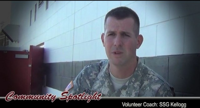 Lakota West Volunteer Track and Football Coach SSG Kellogg Featured in Video