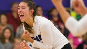 Lakota West Volleyball Alum: Annie Bierman Named SoCon Volleyball Player Of The Year!