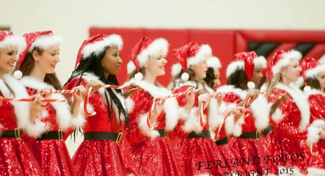 Lakota West Dance Team Announces the Dates of the Christmas Kick Halftime Routine