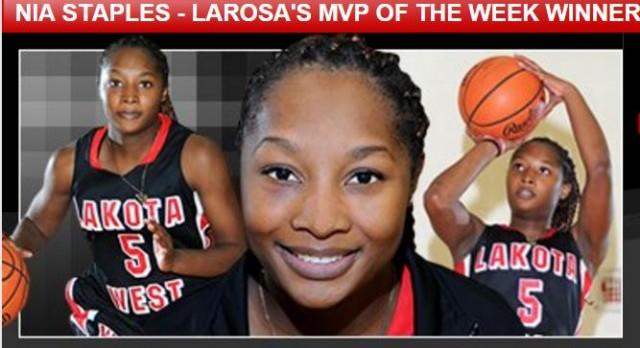 Lakota West Girls Basketball: Staples Named LaRosa's Female MVP of the Year Finalist