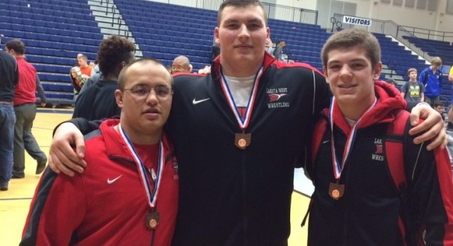 Lakota West Wrestling: Drew Fenton and Tim Tanner-Blair Place 4th at Districts; Advance to State