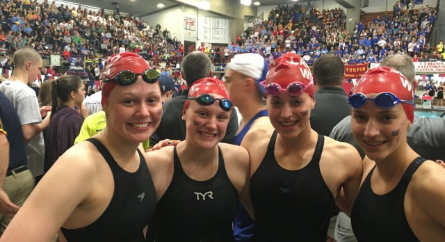 Lakota West Swimming: Nevie Rice Finishes 11th in 200 Free; 400 Free Relay Finishes 10th at State Finals