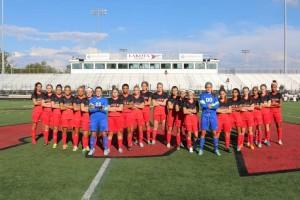 Varsity girls soccer 2015