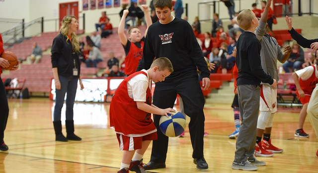Photos: Images from the Lakota Special Olympics Basketball and Cheer Squads