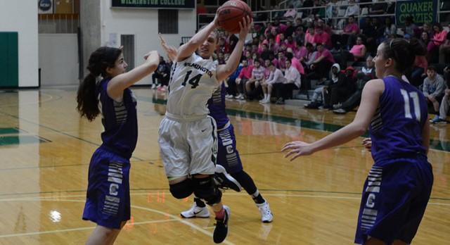 Lakota West Basketball Alum:  Ellie Kivell helps Upset #13 Capital in 1st Career Start!