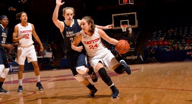 "Alumni: Dayton Daily News ""Detail-oriented freshman Cannatelli aids UD women's team"""