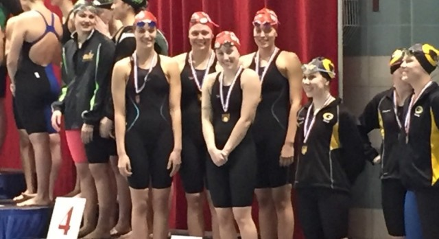 Lakota West Swimming: School Records Fall at Districts; Five Advance to State