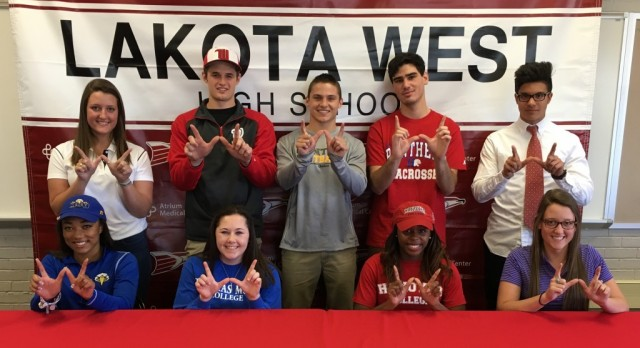 Lakota West National Letter of Intent Spring Signing