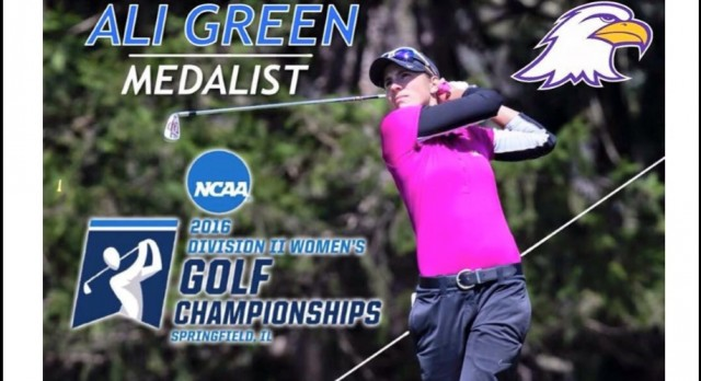 Lakota West Girls Golf Alumni: Ali Green Wins NCAA DII Super Regional