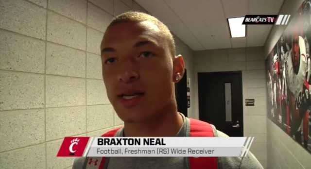 Lakota West Alumni: Braxton Neal Proud to wear the Cincinnati jersey in his hometown