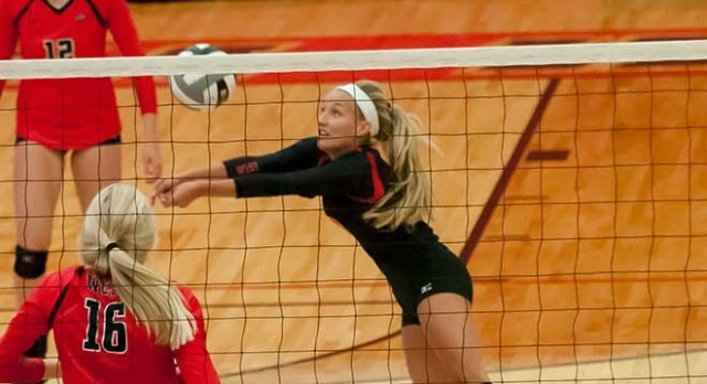 Vote Megan Kaufman for Enquirer Top Volleyball Player of the Week