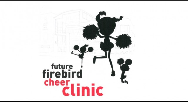 Future Firebird Cheer Clinic Scheduled for 8/28