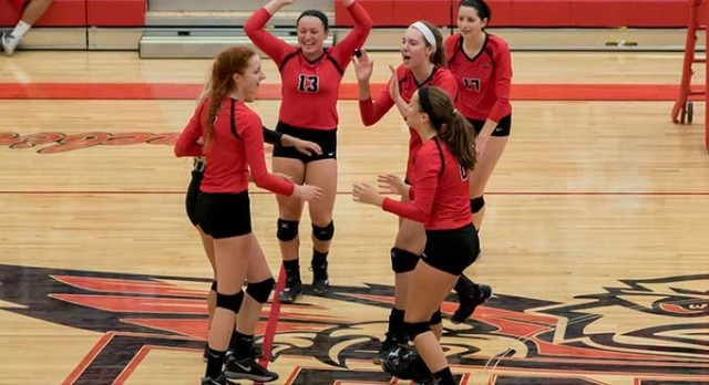 Lakota West Girls Volleyball: After Slow Start, Firebirds Come Back & Beat Beavercreek in Straight Sets