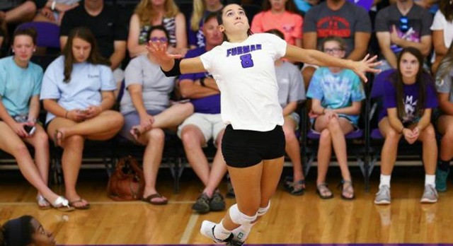 Lakota West Volleyball Alum: Annie Bierman Named SoCon Player Of The Week.
