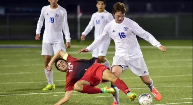Lakota West Boys Soccer: Eberle Scores Hat Trick in Wild Win vs. St. X