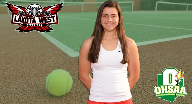 Lakota West Girls Tennis: Nicole Sturgeon Advances to Districts for the Fourth Time