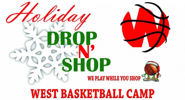IMPORTANT INFO PARENTS: Holiday Drop N' Shop Boys Basketball Camp on Dec.19th-21st!