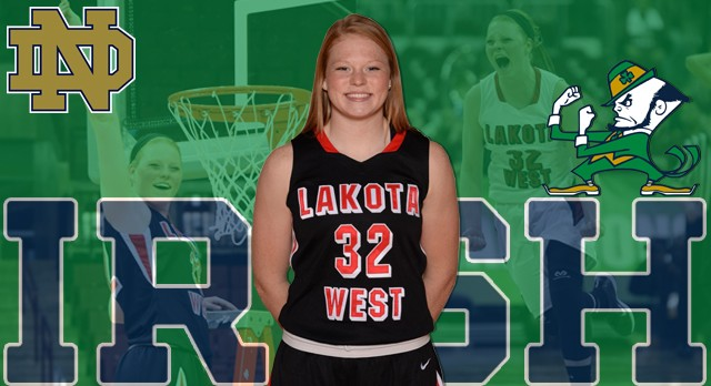 Lakota West Girls Basketball: Abby Prohaska Commits to University of Notre Dame