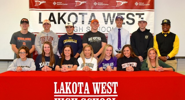 14 Lakota West Student-Athletes Sign at Fall Early Signing Ceremony (Photos)