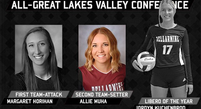 Lakota West Volleyball Alum: Allie Muha Honored Second Team by GLVC!