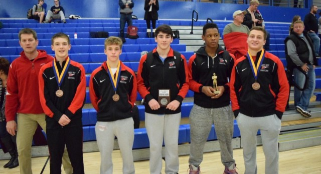 Lakota West Wrestling: Caleb Harris Takes 1st at Olentangy Invitational