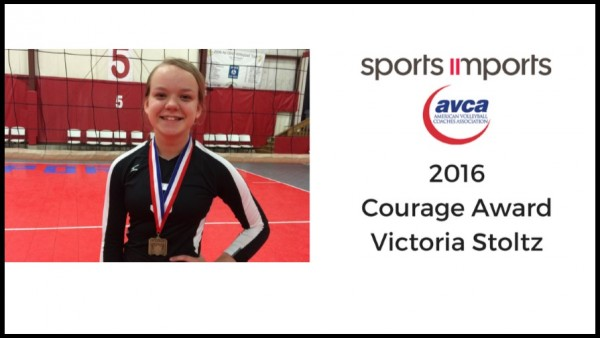 Stoltz courage award