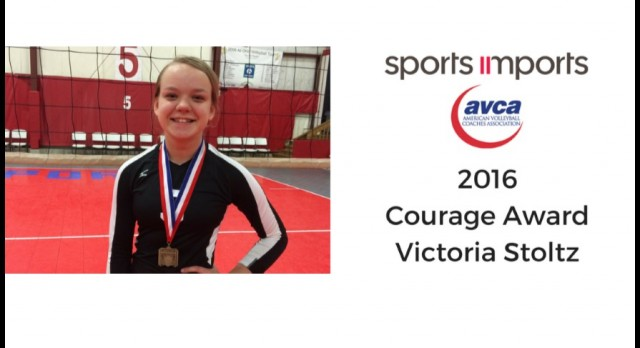 Lakota West Volleyball: Victoria Stoltz Awarded AVCA 2016 Courage Award