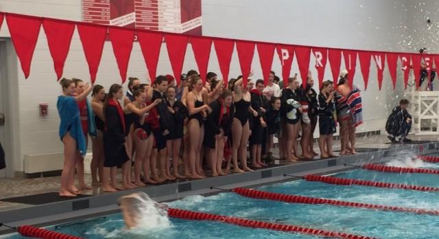 Lakota West Swim Team: Firebird Girls Capture 1st at Princeton Invitational; Boys 2nd