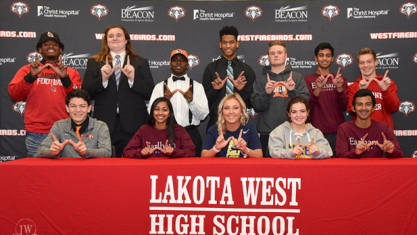Lakota West Winter Signing