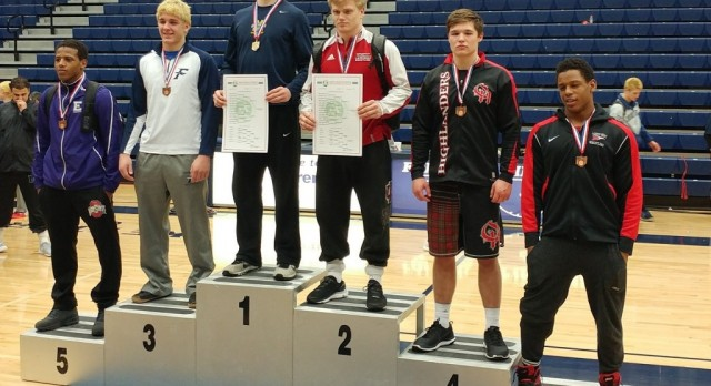 Lakota West Wrestling: Jensen Quinn and Caleb Harris Place at Districts