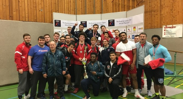 Lakota West Wrestling Alumni: Fenton Finishes 2nd at Junior Austrian Greco-Roman Open