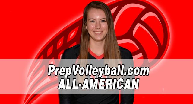 Lakota West Volleyball: Maya Krause Named Academic All-American