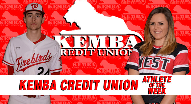 Kemba Credit Union Athletes of the Week 4/3/17 – 4/9/17