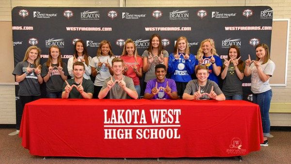Lakota West National Letter Of Intent 2017 Spring Signing - Lakota