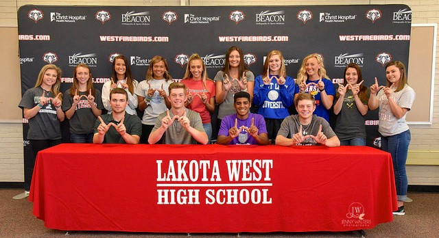 Lakota West National Letter of Intent 2017 Spring Signing