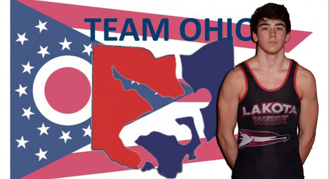Lakota West Wrestling: Bradberry Places 3rd at State Freestyle Wrestling; Earns Spot on Team Ohio