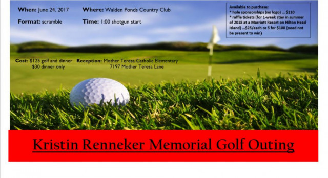 Golf Outing Planned for Kristin Renneker Scholarship Fund