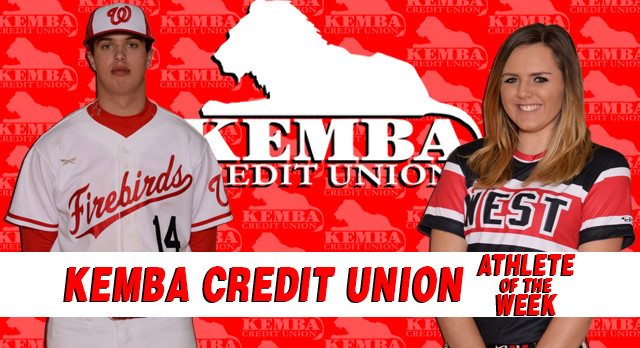 Kemba Credit Union Athletes of the Week 4/15/17 – 4/21/17