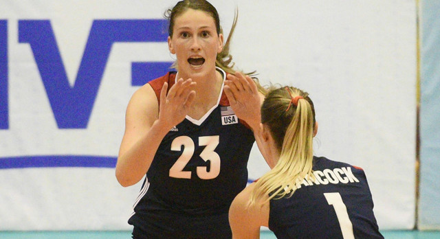 Lakota West Volleyball Alum: Liz McMahon Stars For USA at Pan Am Cup Tournament!