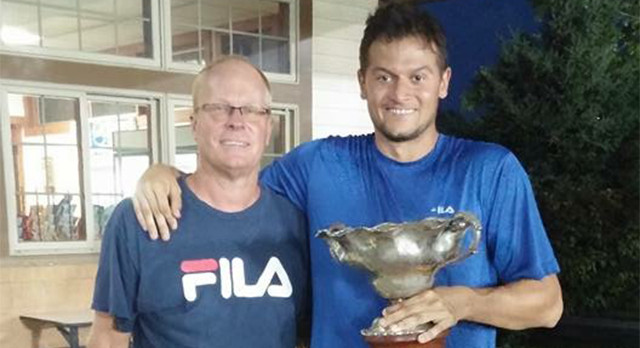 Lakota West Tennis Alum: Wyatt Lippert Wins The Cincinnati Met For The Third Time!